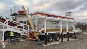 Constmach Betonmischanlage SILO A CIMENT MOBILE DE TYPE HORIZONTAL