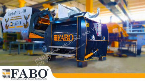 Fabo 1 m3 TWIN SHAFT MIXER IS READY central de betão nova