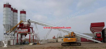 Constmach Stationary Concrete Batching Plant 160 m3 betoncenter ny