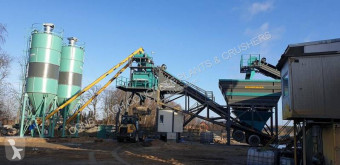 Constmach 100 m3/h Mobile Concrete Batching Plant central de betão nova