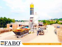 Beton Fabo FABO CENTRALE A BETON COMPACT DE 60 M3/H NOUVEAU PROJET TYPE A GODET nieuw betoncentrale