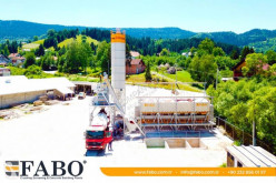 Beton Fabo FABO CENTRALE A BETON COMPACT DE 110 M3/H NOUVEAU PROJET TYPE A GODET nieuw betoncentrale