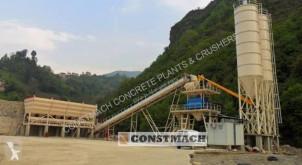 اسمنت Constmach 100 m3 Centrale à Béton Stationnaire مصنع اسمنت جديد