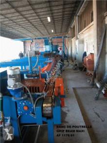 Unidad de producción de productos de hormigón Schiaslo-Spil CRETEBEAM MAXI