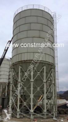 Constmach betonozó üzem CS-2000 Cement Silo 100 Ton Capacity