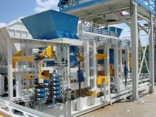 Sumab Universal High Capacity! R-1000 (2000 blocks/hour) Stationary block machine unité de production de produits en béton neuf