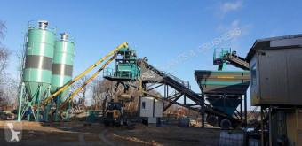 Constmach 100 m3 / h Planta de Concreto Móvel új betonozó üzem