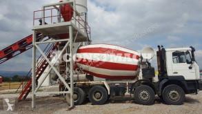 Hormigón planta de hormigón Constmach Dry Concrete Batching Plant 60 m3 Capacity