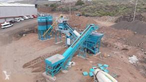 Hormigón Constmach Mobile Concrete Plant 100 M3 Iso and Ce Certified Facilities planta de hormigón nuevo