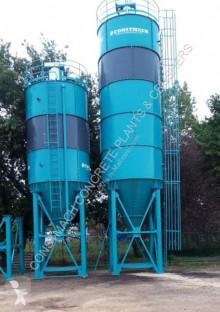 Hormigón planta de hormigón Constmach 50 Ton Cement Silo Manufacturer & Supplier