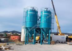 Hormigón Constmach Fabricant et fournisseur de silos à ciment de 50 tonnes planta de hormigón nuevo