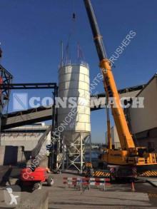 Centrale à béton Constmach Silo à ciment de 500 tonnes (silo à béton)
