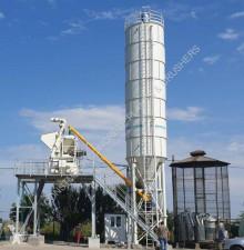 Beton beton santrali Constmach Silo à ciment de 100 tonnes (silo à béton)