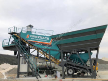 Constmach 30 M3 Mobile Concrete Batching Plant for Easy Installation and Use асфальтобетонный завод новый