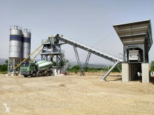 Constmach 120 M3 Capacity Fixed Concrete Mixing Plant For Sale асфальтобетонный завод новый