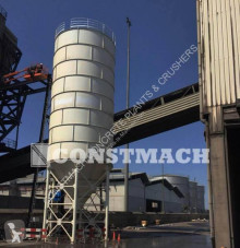 Hormigón planta de hormigón Constmach 500 Ton Cement Silo ( Concrete Silo )