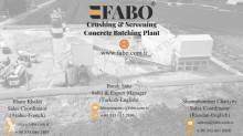 Voir les photos Béton Fabo  CENTRALE A BETONE OCCASION FIXE POWERMIX-200M3/H|CONCRETE BATCHING PLANT STATIONARY