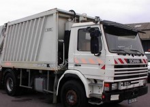 Scania P used waste collection truck