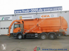MAN waste collection truck TGA 26.320 Hüffermann Frontlader mit Waage*31m³*