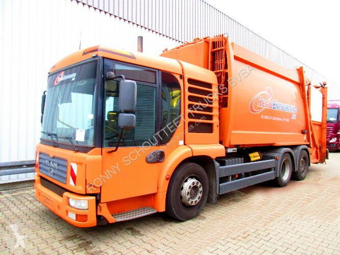 View images MAN TGA 28.310 6x2-4 LL  28.310 6x2-4LL Schörling 3R11 21.5, Terberg Schüttung road network trucks