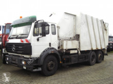 Mercedes SK 2524 6x2 2524 6x2 ohne Motor, no engine! damaged waste collection truck