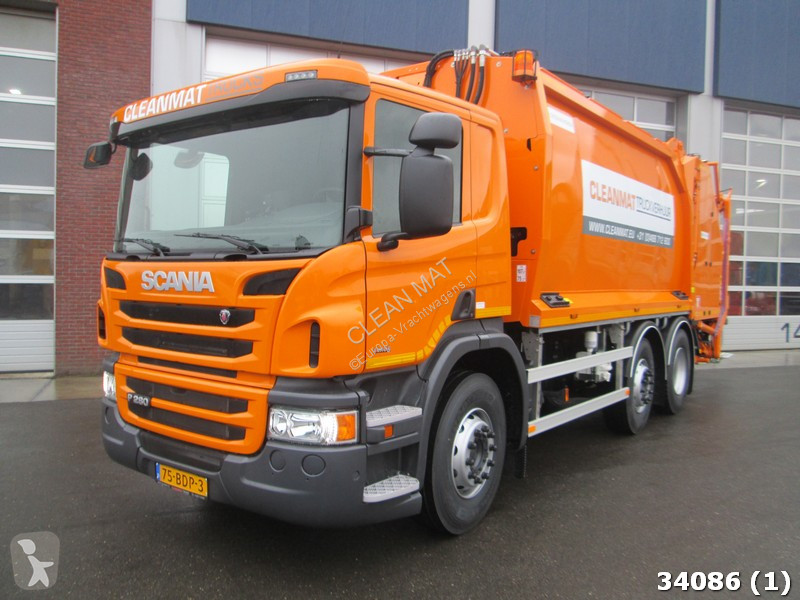 Voir les photos Engin de voirie Scania P 280