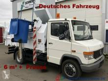 Mercedes 814 D 6m³Seitenlader*Presse*1.Hand*