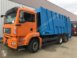 MAN TGA 26.350 6x2 BL, FAUN Powerpress 26.350 6x2 BL, FAUN Powerpress used waste collection truck