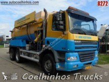DAF CF85 340 used sewer cleaner semi-trailer