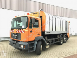 MAN F2000 26.314 FNLC/L 6x2 BL 26.314 FNLC/L 6x2 BL Lift-/Lenkachse, FAUN Rotopress used waste collection truck