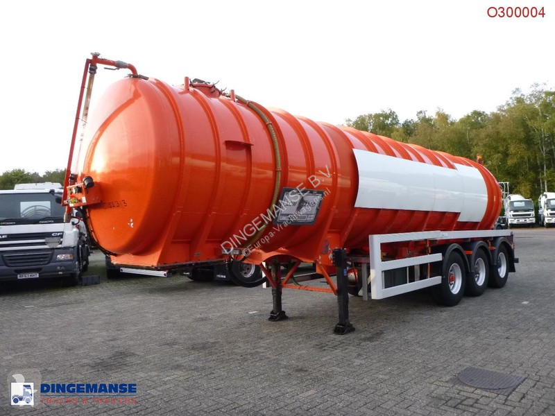 Voir les photos Engin de voirie Crossland Vacuum tank alu 33 m3 / 1 comp + pump