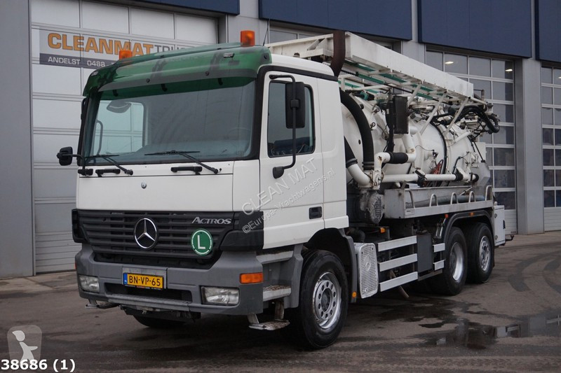 View images Mercedes Actros 2543 road network trucks