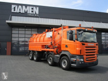 Scania R 420 used sewer cleaner truck