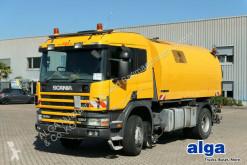 Scania Straßenkehrmaschine,Bucher-Sc OPTIFANT 70