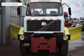 Maquinaria vial camión quitanieves Renault THOMAS CONSTRUCTEURS UNIMOG