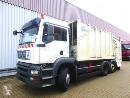 Maquinaria vial camión volquete para residuos domésticos MAN TGA 26.310 BL 6x2 26.310 BL 6x2, Haller M21-x2c, 21m³