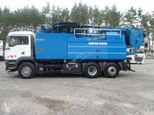 MAN sewer cleaner truck WUKO Wieden Super 3000 z recyklingiem PRZEBIEG 53 777 km