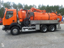 Renault sewer cleaner truck Kerax 6x4 KROLL WUKO Water recycling