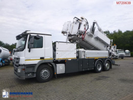 Mercedes Actros 2541 used sewer cleaner truck