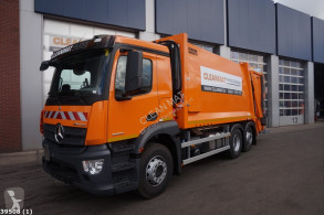 Maquinaria vial Mercedes Antos 2533 camión volquete para residuos domésticos usado