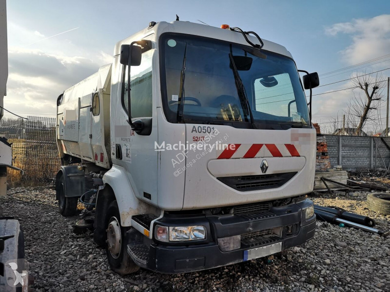 Voir les photos Engin de voirie Renault Midlum sweeper niesprawna