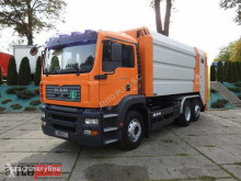 MAN TGA 26.310 ŚMIECIARKA KLIMA PNEUMATYKA AUTOMAT 310KM [ 8930 ] used waste collection truck