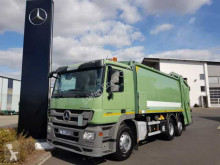 Mercedes Actros 2532 6x2 Hecklader HN-Schörling OL 21 W used waste collection truck