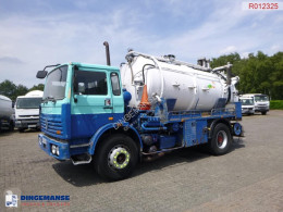 Renault Gamme G 280 Huwer vacuum tank 10 m3 / 2 comp used sewer cleaner truck