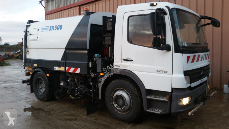 Vedere le foto Veicolo per la pulizia delle strade Mercedes 1218