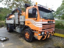 Scania H 82H used sewer cleaner truck
