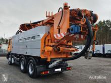 MAN FE - 33.460 Wieden & Reichhardt Super 3000 z recyklingiem camião limpa fossas usado