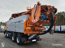 MAN FE 33.460 Wieden & Reichhardt Super 3000 z recyklingiem camion-cisternă second-hand