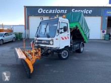 Multicar used snow plough-salt spreader