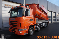 Scania G 480 used sewer cleaner truck